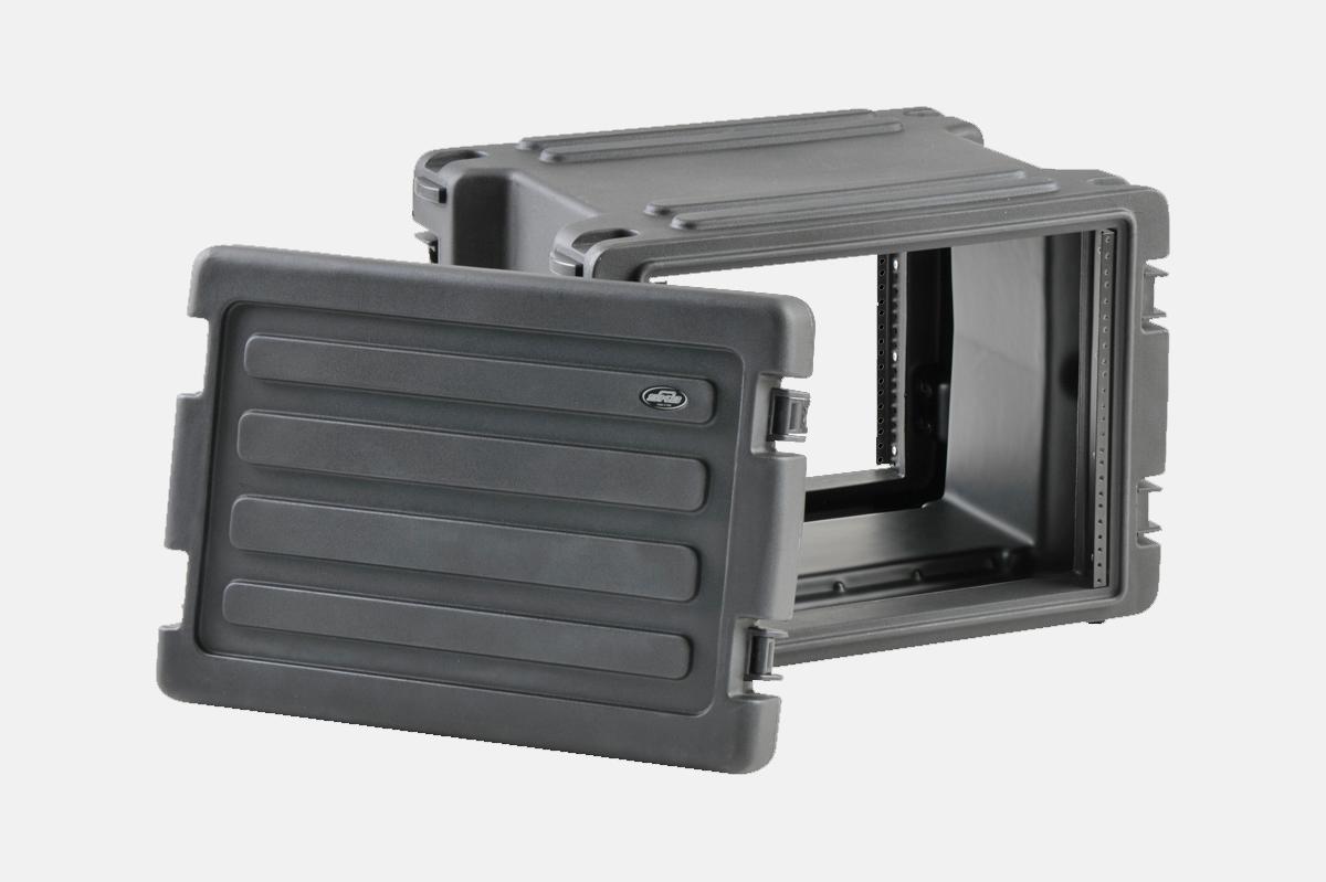 SKB Roto Rolling Rack Case – 8U