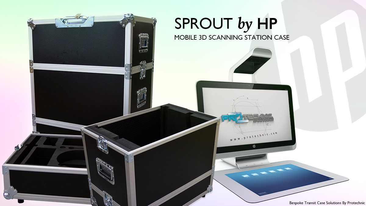 Mobile 3D Scanning Station Case